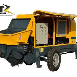 Máy bơm bê tông mini HBT40S-10-45 30m3 / h đến 80m3 / h