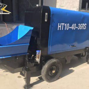 Máy bơm Bê tông Mini Chạy Dầu HT6.20. 25RS - 6 - 8 m³ / h