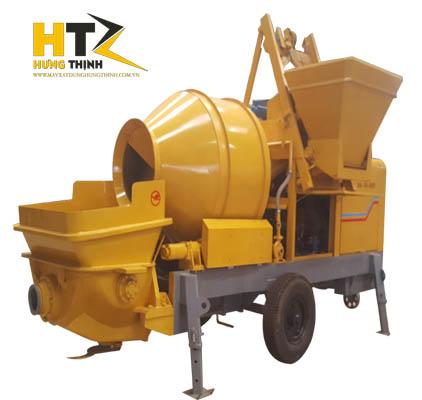 Máy trộn bơm bê tông liên hợp công suất cao m³ / h Động cơ 37kw